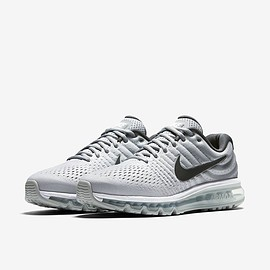 NIKE - AIR MAX 2017 WHITE/DARK GREY-WOLF GREY 849559-101