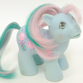 My little pony - Baby brother sweet celebrations   /Loving family ponies(G1)