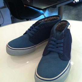 VANS - MARC JACOBS  CHUKKA BOOT LX  Real Teal/Dress Blue