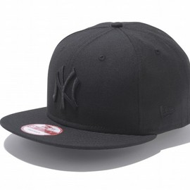 New era - New York Yankees Black × Black Snapback