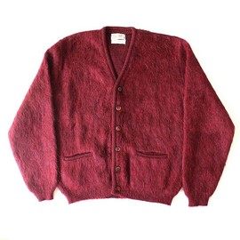 USED - mohair knit cardigan