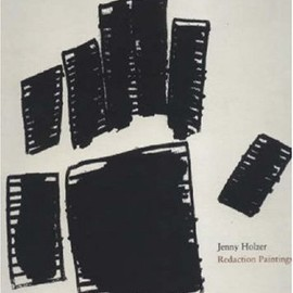 Jenny Holzer - Redaction Paintings