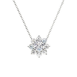 HARRY WINSTON - Sunflower Pendant
