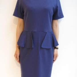 G.V.G.V. - PEPLUM DRESS
