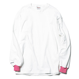 SOPHNET. - BARBARIAN COLOR RIBBED LONG SLEEVE TEE