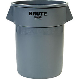BRUTE - Rubbermaid BRUTE Round Container 208.2L Gray
