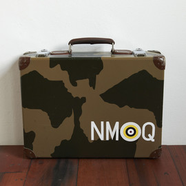 GLOBE TROTTER - Camouflage Attache Case