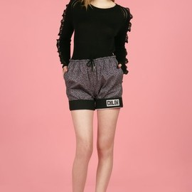 chloe sevigny for opening ceremony - vision cuffed shorts
