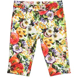 Dolce & Gabbana - Baby Girls Floral Jersey Trousers