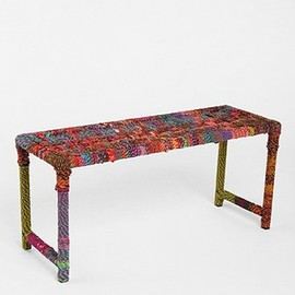 urban outfitters - Rainbow Weave Bench