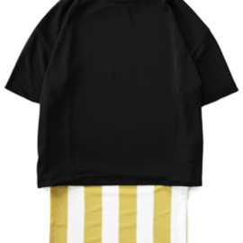 TOGA - Stripe Knit Dress (black)