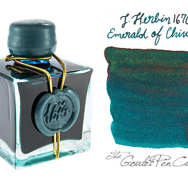 J. Herbin - J. HERBIN EMERALD OF CHIVOR 1670 ANNIVERSARY INK (50ML BOTTLED INK)