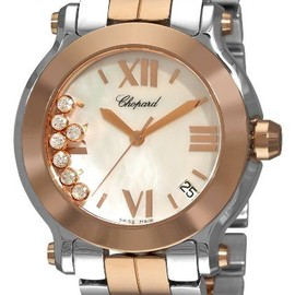 Chopard - Two Tone Mother-Of-Pearl Watch.