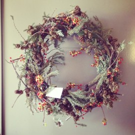 MY'S - Christmas wreath