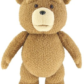 "Ted - Ted 16"" Plush with Sound & Moving Mouth, R-Rated, 12 Phrases"