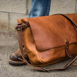 Whipping Post - Vintage Messenger Bag
