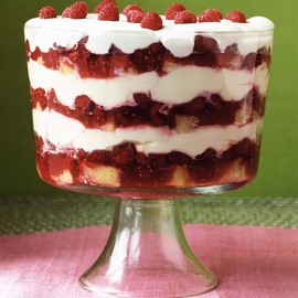 Martha Stewart - Grand Raspberry Trifle