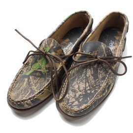 Russell Moccasin - Russell Moccasin Camouflage Camp Moccasin