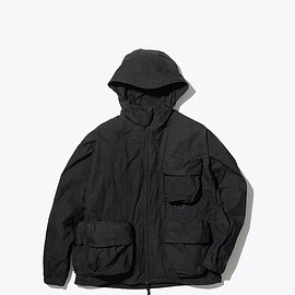 snow peak - Indigo C/N Parka - Black