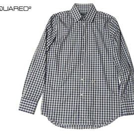 DSquared2 - 14S/Sチェック長袖シャツ