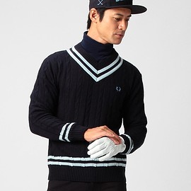FRED PERRY - FRED PERRY ×BEAMS GOLF / 防風 チルデンセーター 2