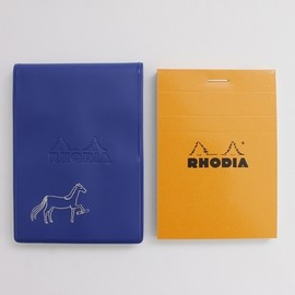 PASS THE BATON - RHODIA No.11 IN COLOR NV/Horse
