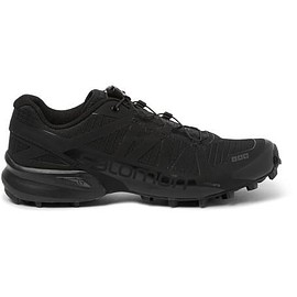 Salomon - S/LAB Black Speedcross Running Sneakers