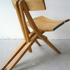 John Booth - Recycled Wood Chairs