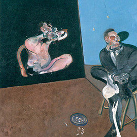 Francis Bacon - Two Studies for a Portrait of George Dyer
