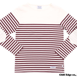 NEIGHBORHOOD - NEIGHBORHOODBOAT/C-CREW.LS(クルーネック長袖Tシャツ)BURGUNDY209-000283-033-【新品】【smtb-TD】【yokohama】