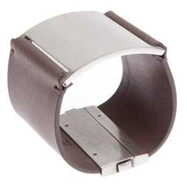 Maison Martin Margiela - Leather And Brass Cuff