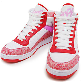A BATHING APE - BAPESTA 88 RED×PINK