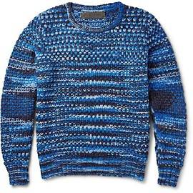 The Elder Statesman - Patterned Cashmere Sweater