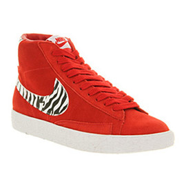 Nike, Office (UK) - Blazer Mid - Varsity Red/Zebra