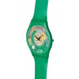 Swatch - green jelly skin