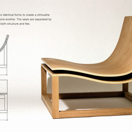 Jeremy Kaplan Design - SILHOUETTE CHAIR