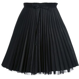 RED VALENTINO - pleated skirt