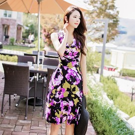 LUXE ASIAN - Luxe Asian Women 韓国 Style Shop korean clothing Rosemary Dress