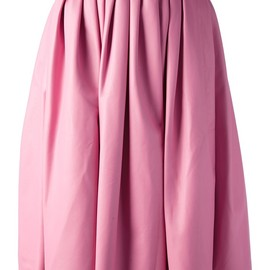 DSquared2 - pleated leather skirt
