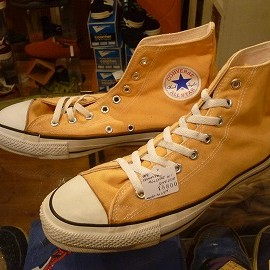 "converse - 「<used>90's converse ALLSTAR HI gold""made in USA"" size:US10(28.5cm) 8800yen」完売"