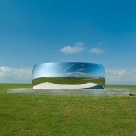 Anish Kapoor  - C-Curve sculpture