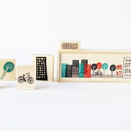 Yellow Owl Workshop - Cityscape Stamp Set