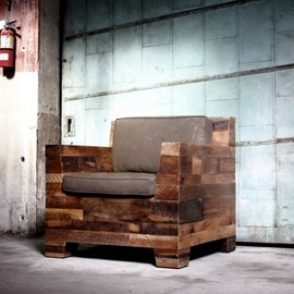 districtmillworks - Lounge chair