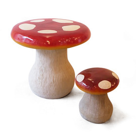 DETAIL - mushroom stool / table