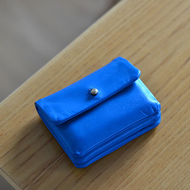 ALICE PARK - Single Flap Wallet  / turquoise(sample)