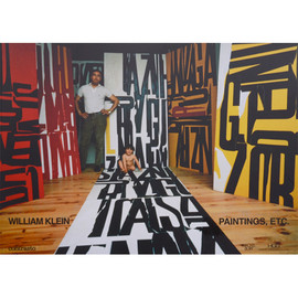 WILLIAM KLEIN - PAINTINGS, ETC