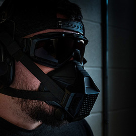Project Black - TR2 (Tactical Respirator II) - Black
