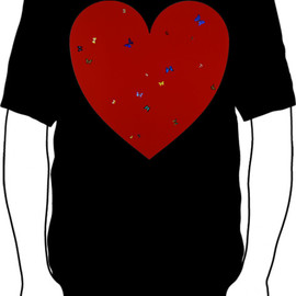 Damien Hirst - All You Need Is Love T-shirts