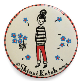 Shinzi Katoh - Seine My Regards Compact Mirror