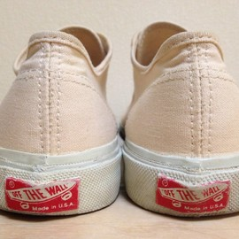 VANS - 90's PRIMSOLE made in USA
